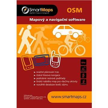 SmartMaps OSM Mapy Evropy 1:40 000 (elektronická licence) (SMMAP.OSM.EV.ANDR.WP.2014)