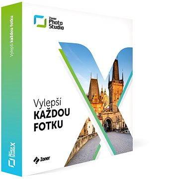 Zoner Photo Studio X CZ na 1 rok pro 1 uživatele (ZPSX-SUB-BOX-CZ)