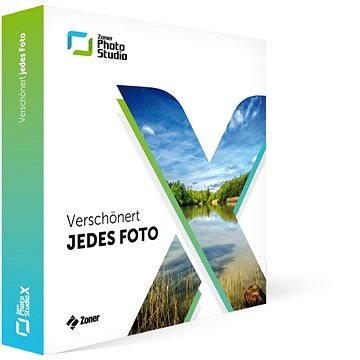 Zoner Photo Studio X DE Familien-Lizenz Abo 1 Jahr (1 Haushalt) (elektronická licence) (ZPSX-SUB-01-GE)