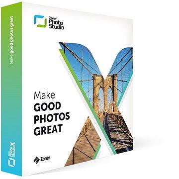 Zoner Photo Studio X EN na 1 rok pro 1 uživatele (elektronická licence) (ZPSX-SUB-00-EN)