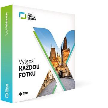 Zoner Photo Studio X pro domácnost na 1 rok (elektronická licence) (ZPSX-SUB-01)