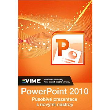 Výukový kurz MS PowerPoint 2010 doživotní licence ke stažení (elektronická licence) (VK.PWP.2010.VIME)