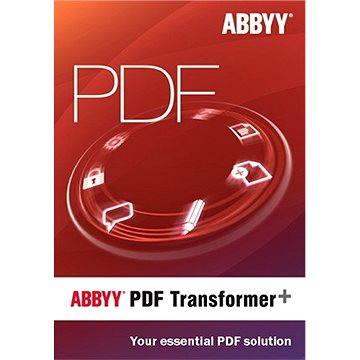 ABBYY PDF Transformer + (elektronická licence) (AB-09185-01)