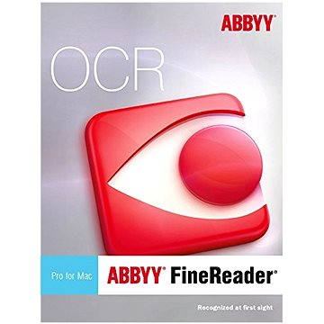 ABBYY FineReader Pro for Mac Upgrade (elektronická licence) (AB-09347)