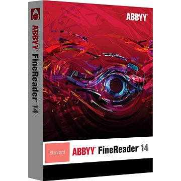 ABBYY FineReader 14 Standard Upgrade (elektronická licence) (AB-10552)
