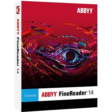ABBYY FineReader 14 Corporate Upgrade (elektronická licence) (AB-10558)