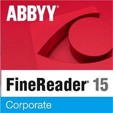 ABBYY FineReader 15 Corporate (elektronická licence) (FR15CW-FMPL-X)
