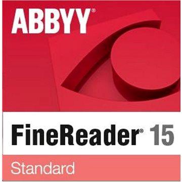 ABBYY FineReader 15 Standard upgrade (elektronická licence) (FR15SW-UMPL-X)