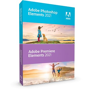 Adobe Photoshop Elements + Premiere Elements 15 CZ (elektronická licence) (65273435AD01A00)