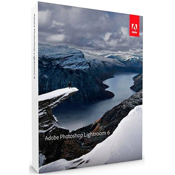 Adobe Photoshop Lightroom 6 MP ENG COM (elektronická licence) (65237534AD01A00)