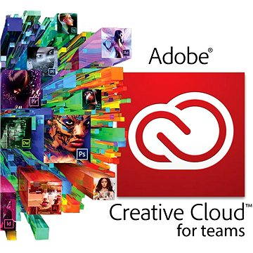 Adobe Creative Cloud for teams All Apps MP ENG Commercial (1 měsíc) (elektronická licence) (65276762BA01A12)