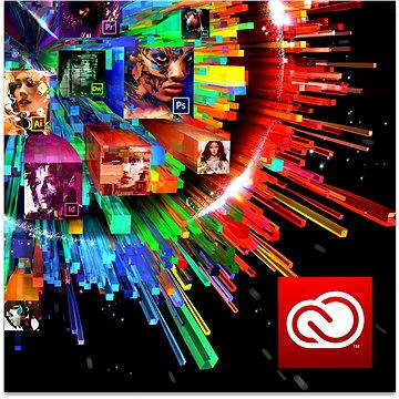 Adobe Creative Cloud for teams All Apps with Adobe Stock MP ML (vč. CZ) Commercial (12 měsíců) (elek (ACC65270604BA01A12-12)