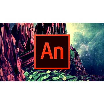 Adobe Animate Creative Cloud (Flash Pro) MP ENG Commercial (1 měsíc) (elektronická licence) (ACC65270424BA01A12)