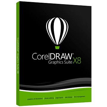 CorelDRAW Graphics Suite X8 Upgrade WIN (elektronická licence) (LCCDGSX8MLUG1)