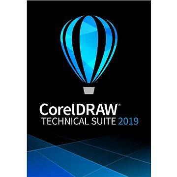 CorelDRAW Technical Suite předplatné na 1 rok pro jednoho uživatele (elektronická licence) (LCCDTSSUB11)