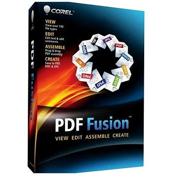 Corel PDF Fusion 1 License ML WIN (elektronická licence) (LCCPDFF1MLA)