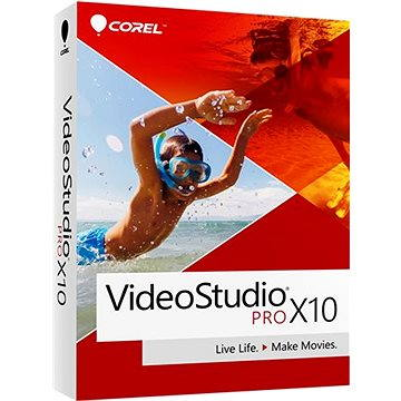 Corel VideoStudio Pro X10 License WIN (elektronická licence) (LCVSPRX10ML1)
