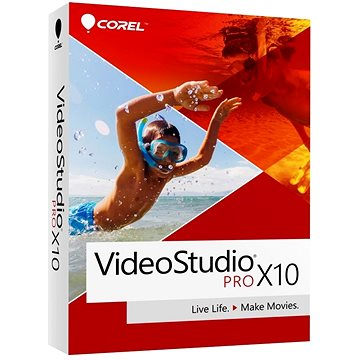 Corel VideoStudio Pro X10 Upgrade License WIN (elektronická licence) (LCVSPRX10MLUG1)