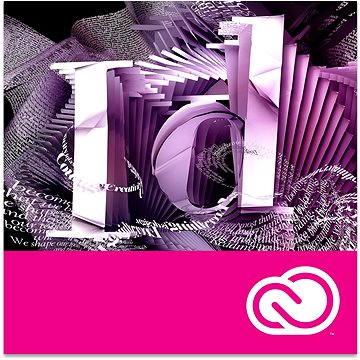 Adobe InDesign Creative Cloud MP ML (vč. CZ) Commercial (12 měsíců) (elektronická licence) (ACC65270557BA01A12-12)