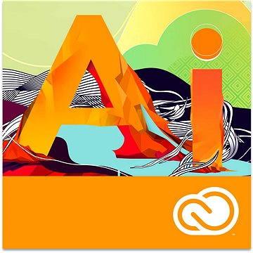 Adobe Illustrator Creative Cloud MP ENG Commercial (12 měsíců) (elektronická licence) (65276559BA01A12-12)