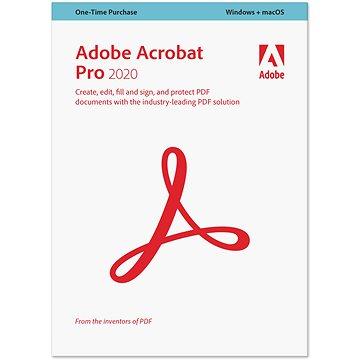 Acrobat Professional 2020 MP CZ (elektronická licence) (65310747AD01A00)