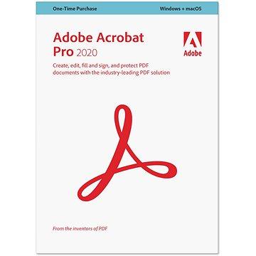 Acrobat Pro DC (12) MP CZ Upgrade z 10 a 11 COM Lic 1+ (200) (elektronická licence) (65259096AD01A00)