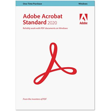 Acrobat Std DC (12) WIN SK Upgrade z 10 a 11 COM Lic 1+ (140) (elektronická licence) (65258786AD01A00)