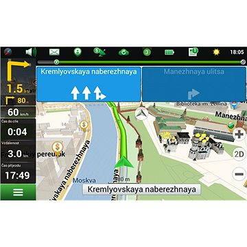 NAVITEL Navigator + Rusko (elektronická licence) (AL006)