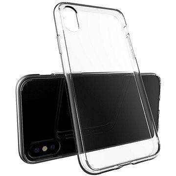 Epico Twiggy Gloss pro iPhone X, bílý transparentní (24310101000002)