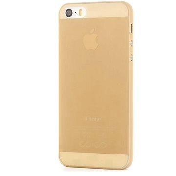 Epico Twiggy Matt pro iPhone 5/5S/SE zlatý (1110102000005)