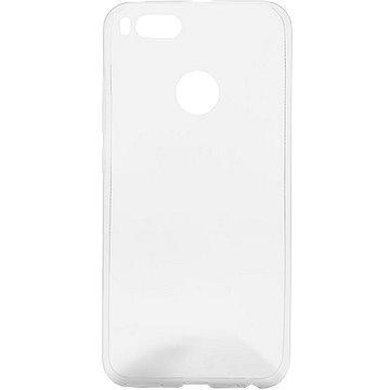 Epico RONNY GLOSS pro Xiaomi Mi A1 - bílý transparentní (25210101000001)