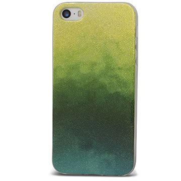 Epico GRADIENT RAINBOW pro iPhone 5/5S/SE - green (1110102500406)