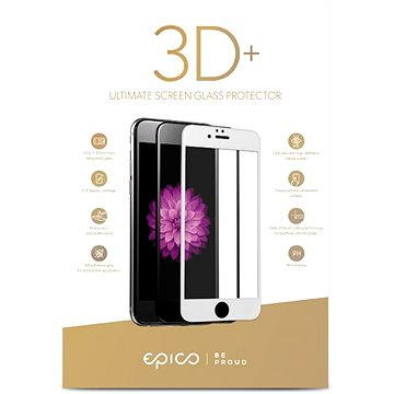 Epico Glass 3D+ pro iPhone 6 Plus a iPhone 7 Plus bílé (15912151100001)