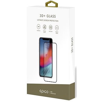 Epico Glass 3D+ pro iPhone 6 Plus a iPhone 7 Plus černé (15912151300001)