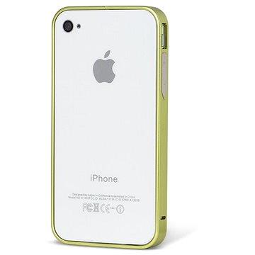 Epico Hero Hug hliníkový rámeček pro iPhone 4/4S zelený (1013111500002)