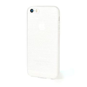 Epico String pro iPhone 5/5S/SE bílý transparentní (1110101000008)