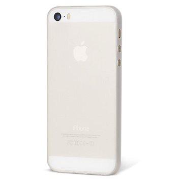 Epico Ultrathin Matt pro iPhone 5/5S/SE bílý transparentní (1110101000016)