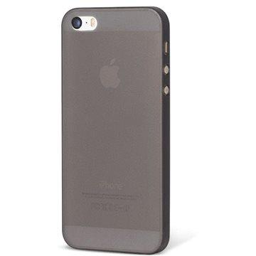 Epico Ultrathin Matt pro iPhone 5/5S/SE černý transparentní (1110101200012)