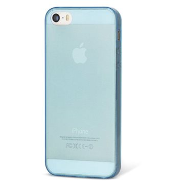 Epico Ultrathin Matt pro iPhone 5/5S/SE modrý (1110101600022)