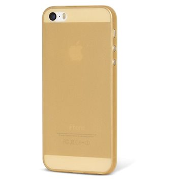 Epico Ultrathin Matt pro iPhone 5/5S/SE zlatý (1110102000026)