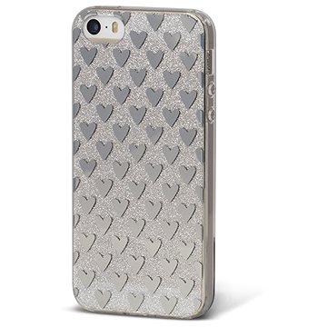 Epico Silver Hearts pro iPhone 5/5S/SE (1110102100020)