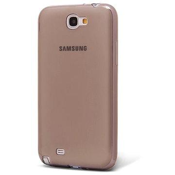 Epico Ronny Gloss pro Samsung Galaxy NOTE 2 - černý transparentní (2110101200003)