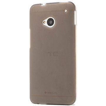 Epico Ronny pro HTC One (M7) - černý transparentní (2410101200002)