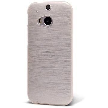 Epico String pro HTC One M8 - bílý transparentní (2610101000005)