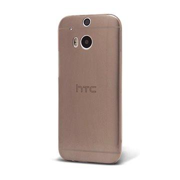 Epico Ronny Gloss pro HTC One (M8) - černý transparentní (2610101200002)