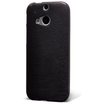 Epico String pro HTC One M8 - černý transparentní (2610101200003)