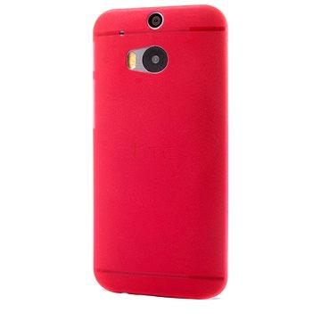 Epico Ultrathin Matt pro HTC One (M8) - červený (2610101400001)