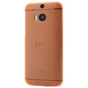 Epico Ultrathin Matt pro HTC One (M8) - oranžový (2610101800001)