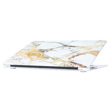 Epico Matt Marble pro Macbook Air 13 bílé (7810101100001)