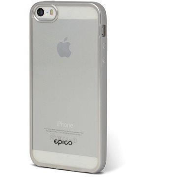 Epico Matt Bright pro iPhone 5 / 5S / SE - silver (1110102100024)